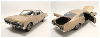 Chevrolet Impala SS 1967 gold, Modellauto 118 / Ertl