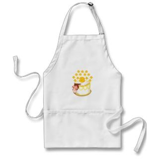 Year Old Mouse Birthday Cake Apron