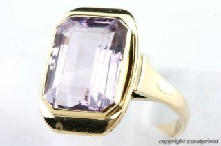 Amethystring in Gold Ring mit Amethyst Damenring 585