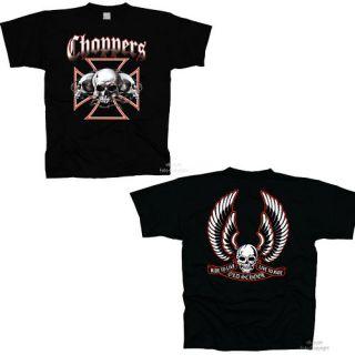 Biker Skull Totenkopf Chopper T Shirt *487/39