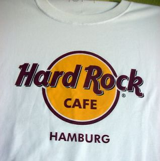 Classic Hard Rock Cafe Hamburg T  Shirt, XX Large