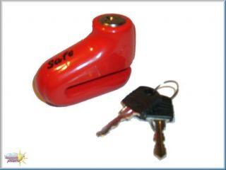 Motorrad Bremsscheibenschloss Safe Disc Lock 5,4mm
