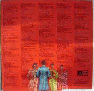 The Beatles   Sgt Peppers Lonely Hearts Club Band   LP HörZU SHZE 401