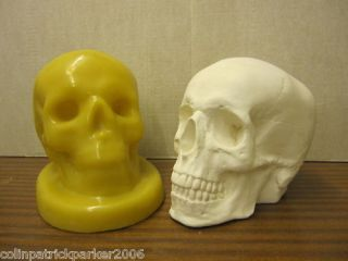 NEW ♥ SUPERCAST RUBBER LATEX SKULL MOULD / MOLD ♥ NEW