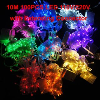 10M 100LED party wedding Christmas tree/party/wedding string light