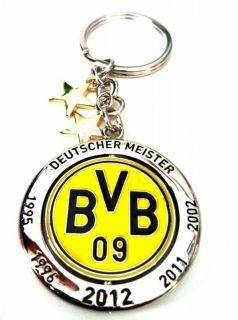 BVB Borussia Dortmund 09 Schlüsselanhänger Deutscher Meister 2012