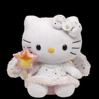 TY Beanie Angel Engel Hello Kitty Puppe