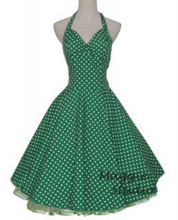 50er Jahre Tanz Kleid zum Petticoat Rockabilly 501