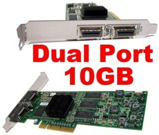 Voltaire 400Ex Dual Port 4x 10GB PCIe HCA 128MB 501S12317 IBM 400 EX