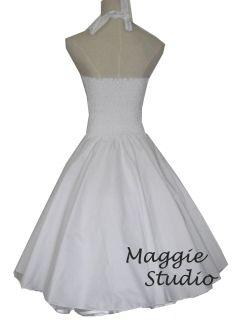 50er Jahre Tanz Kleid zum Petticoat Marilyn Monroe