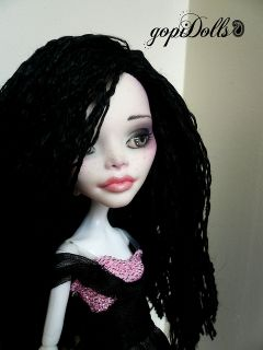 Monster High C.A.Cupid custom ooak by gopiDolls