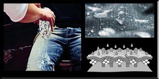 Kevlar Jeans von King Kerosin Denim sind Wasser abweisend