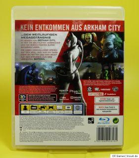 Batman  Arkham City   3D   wie neu   dt. Version   PS3 Spiel