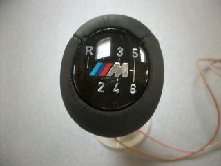 Original BMW M Power Schaltknauf 3er E30 E36 E46 6 Gang beleuchtet