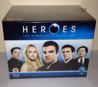 Heroes Series 1 4 ★ Complete Blu Ray Box Set ★ New and Sealed