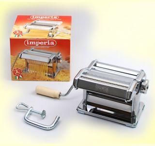 Imperia Nudelmaschine Pasta Machine verchromt Edelstahl
