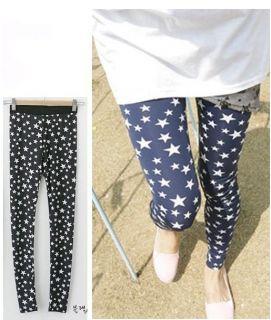 Gk499 New Fashion Korean Womens Fashion elastic pants Trousers