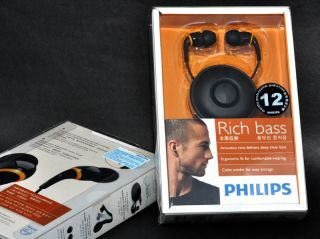 Philips SHE9550 Rich Bass In Ear phone Headphones New