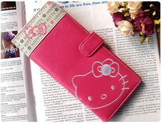 neu Hello Kitty Geldbörse super süß und liebenswürdig Maß 9x18