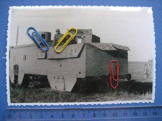 Foto/Photo 508,Panzer,Tank, WW2, Panzerzug, Bild von der 7.PD bei