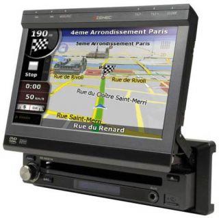 ZENEC ZE NC514 Naviceiver, Navigation DVD USB iPod iPhone, 1 DIN