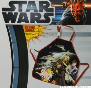 Star Wars Clone Wars Anakin Obi Wan Ahsoka Malschürze Basteln