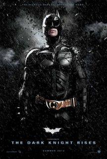 BATMAN   THE DARK KNIGHT RISES MOVIE POSTER # 3
