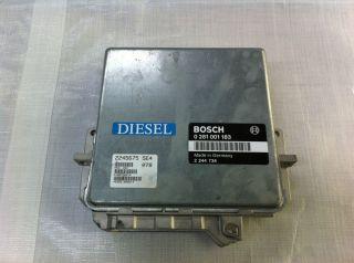 BMW E34 525 tds Diesel Steuergerät Motorsteuergerät Bosch 0281001183