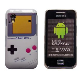RETRO Nintendo Game Boy Hard back Case cover for Samsung Galaxy Ace