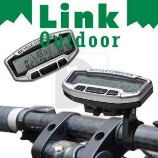 LCD Bicycle Bike Computer Odometer Speedometer DB085
