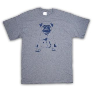 PUG PUPPY CUTE DOG RETRO GRAPHIC KIDS T SHIRT ALL COLOURS AND SIZES