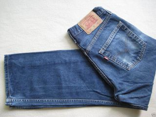 Cult Design Jeans LEVI´S Levis 521 Zip Fly dark denim blue used 30