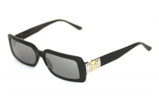 BVLGARI 832 501/28 Brille Schwarz/Silber/Gold glasses lunettes