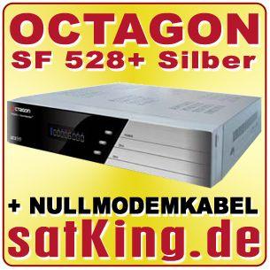 OCTAGON SF 528+ PLUS 2x CI Slot 1x CA Smart Card Reader SAT DIGITAL