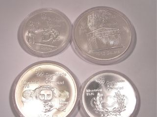 Olympische Spiele 1976/ Canadian Olympic Coins Montreal