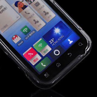 TPU Silikon Tasche Case Hülle Schale Etui für Motorola Defy MB525