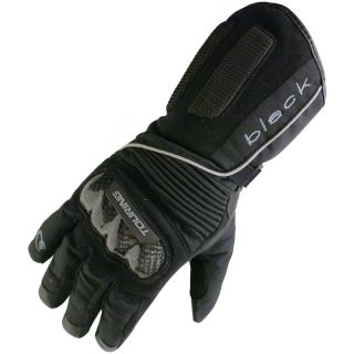 BLACK ICE WATERPROOF MOTORCYCLE WINTER MOTORBIKE TOURING BIKE GLOVES