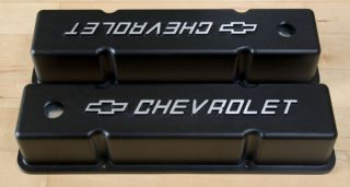 VENTILDECKEL ALU CHEVY SB CHEVROLET VALVE COVER SMALL BLOCK GM LOGO