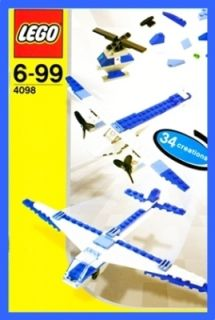 4098 Creator Designer High Flyers Flugzeug Hubschrauber * 542