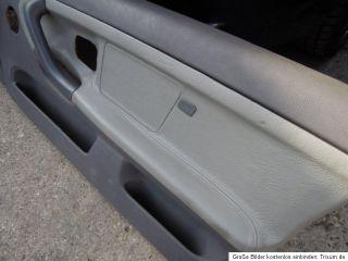 BMW E36 US M3 Cabrio Türpappen Türverkleidung Leder grau door panel