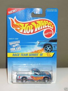 Hot Wheels Chevy 1500 #534 #16907 Race Team Series 1996