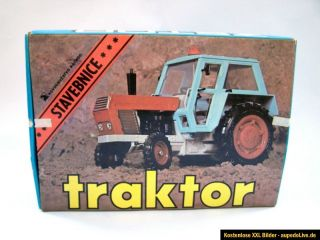 204) Traktor ZETOR KDN MSB Baukasten mit Verpackung DDR Spielzeug