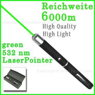 Laserpointer Grün 6000m 532nm High power laser pointer