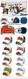 New Vintage Ball Cap Cotton Baseball Trucker Caps Visors Hats Nwt 533