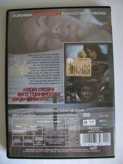 DVD IL DIO SERPENTE con Nadia Cassini Cult Raro Fuori Catalogo Usato