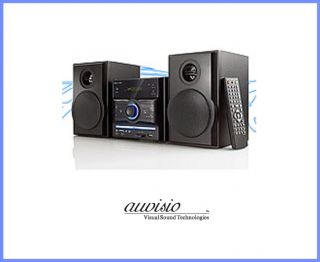 Microsystem STEREOANLAGE MHX 540 DVD mit DVD USB SD KARAOKE DVD