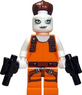 LEGO Star Wars Figur Head Hunter Aurra Sing (aus Bausatz 7930) + 2