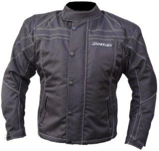 Motorrad Jacke Motorradjacke Textil Schwarz Gr. L  XXXL