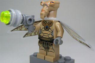 LEGO Star Wars Figur Geonosian Warrior mit Flügeln und Blaster (aus