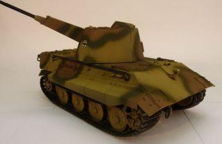 deutscher Flakpanzer E75 gebaut / German WWII heavy Tank E 75 built 1